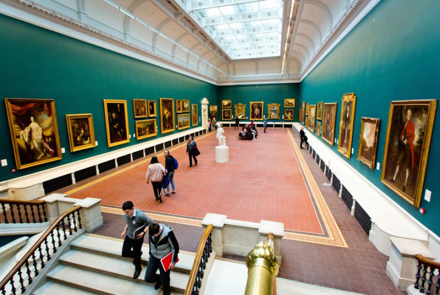 Sample answer for IELTS WRITING TASK 2: Public museums and galleries will not be needed?