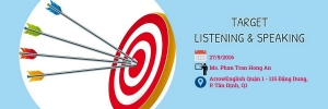 Khai Giảng Lớp Target Listening & Speaking tháng 9